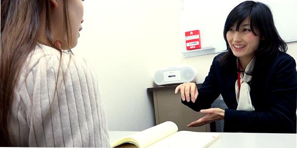 ECC日本語学院の授業風景3